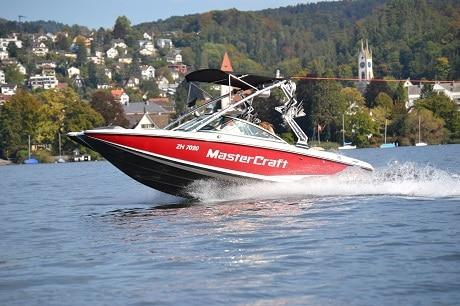 Mastercraft X2 350 PS Geschäftsausflug Zürich